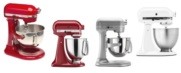 Kitchenaid Colors 2015 most and recommended kitchenaid stand mixers list of 2015